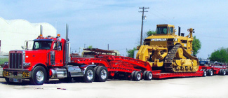 Heavy Haul Military Trucking