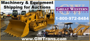 Heavy Machinery Equipment Shipping for Auctions