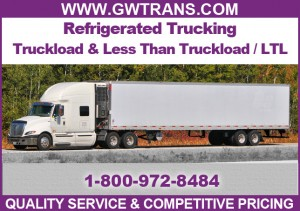 refrigerated trucking shipping