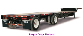 Single Drop Flatbed