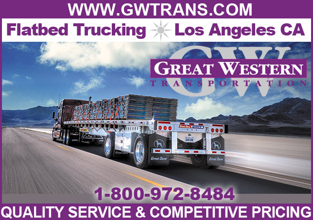 flatbed trucking los angeles ca