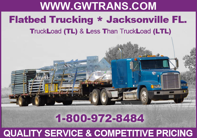 Jacksonville Fl Flatbed Trucking Great Western
