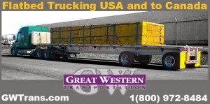 Three Things That Make Flatbed Trucking Services Unique In